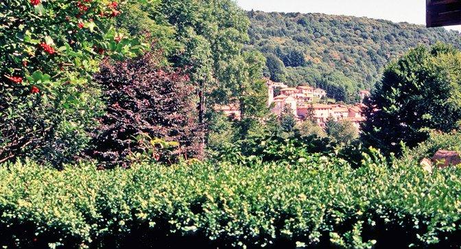 Landsbyen i Lombardiet