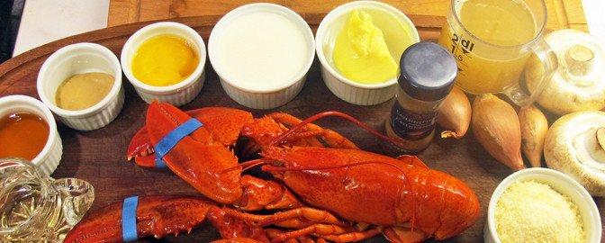 Lobster Thermidor, skritt for skritt!