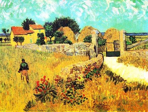 Bondegård i Pr van Gogh