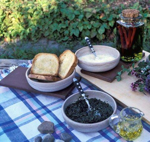 Basilikum og pesto