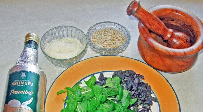 Pesto Genovese, basilikumens ener!