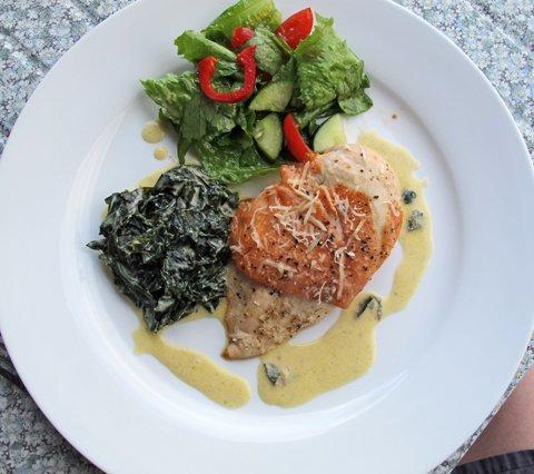 Kylling med laks og grønnkål2jpg