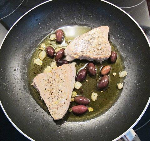 Tunfisk i pannen