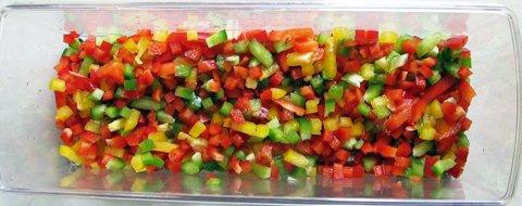 fylt squash, grønnsakene