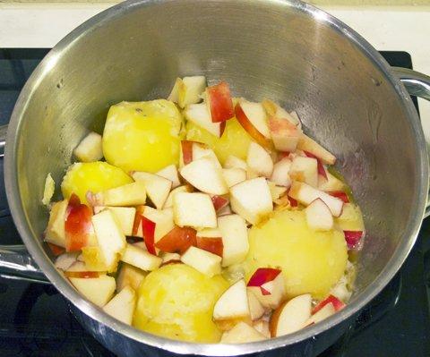 Gulløye og epler