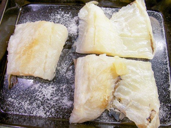 Lutefisk i ovn