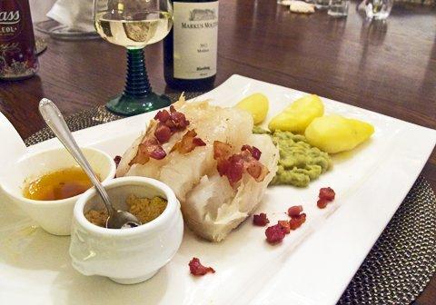 Lutefisk på bordet