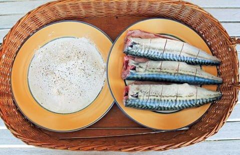 Grillet makrell, ingr