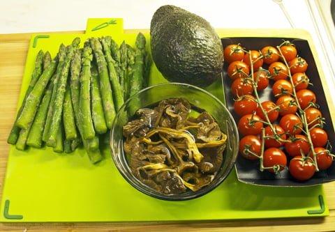 Avocado og aspargespure