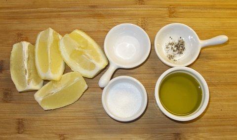 Ingredienser sitronpesto