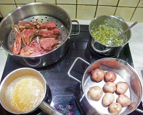 Alt kokes