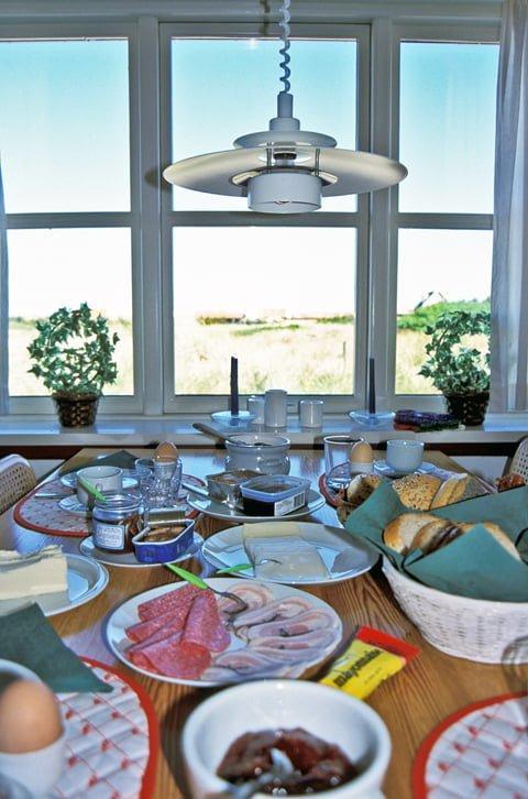 Gamle Skagen, frokost