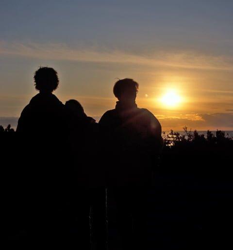 Gamle Skagen, solnedgang
